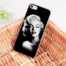 Load image into Gallery viewer, Marilyn Monroe Soft  Phone Case