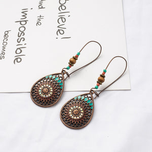 Water Drip Hanging Earrings