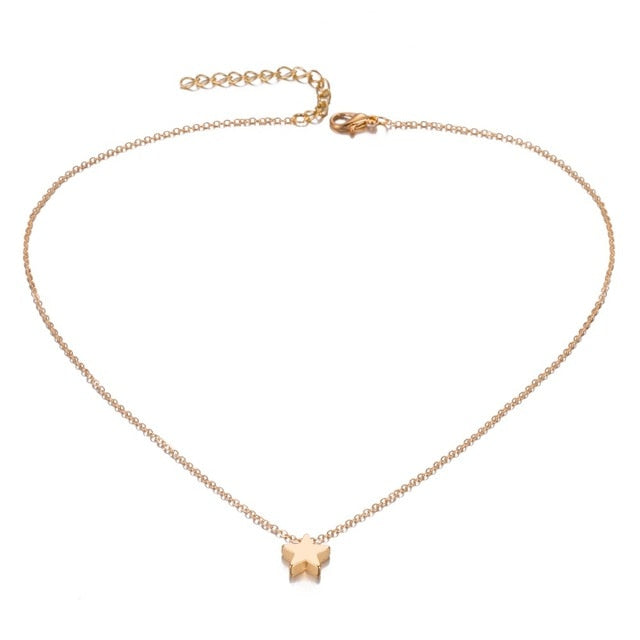 Slover Star Choker Necklace