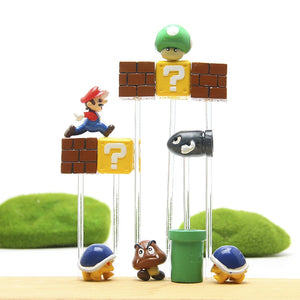 Super Mario Mini Action Figures Kid Toys