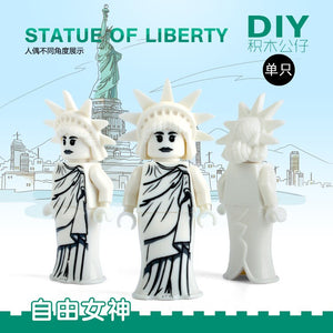 Statue Of Liberty Building Blocks Kids Xmas Toys