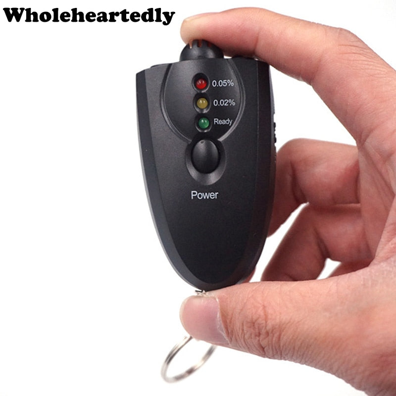 Digital Alcohol Tester Key Chain