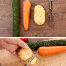 Load image into Gallery viewer, Multifunctional Stainless Steel Paring Peeler