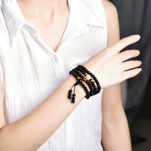 Load image into Gallery viewer, Black Buddha Bangles & Bracelets