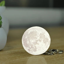 Load image into Gallery viewer, Moon Shape Key Chain