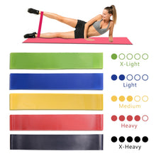 Load image into Gallery viewer, Resistance Bands Workout Yoga Rubber