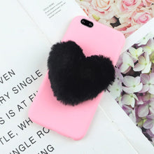 Load image into Gallery viewer, Furry Love Hearts Phone Case