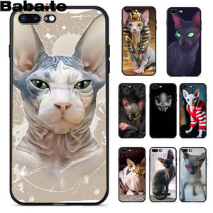 Sphinx Cat Soft Silicone Phone Case