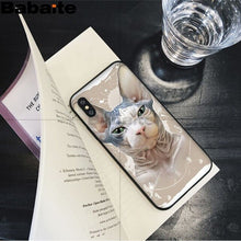 Load image into Gallery viewer, Sphinx Cat Soft Silicone Phone Case