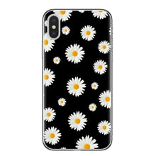 Load image into Gallery viewer, Fashion Summer Daisy Sunflower Floral Flower Soft TPU Phone Case Fundas Coque For iPhone 7 7Plus 6 6S 8 8PLUS X XS Max Shell