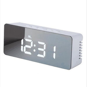 Mirrored Digital Alarm Clock