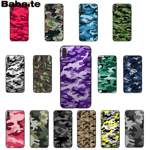 Camouflage Pattern Phone Case