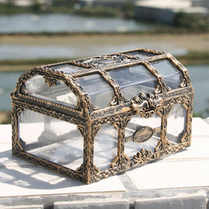 Transparent Pirate Treasure Box