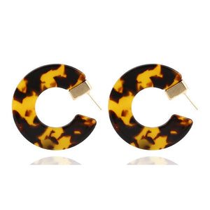 Acrylic Acetate Earrings
