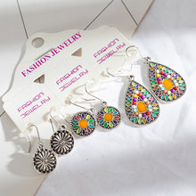 Load image into Gallery viewer, Ethnic Dangle Drop Earrings