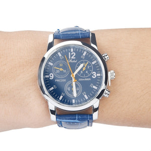 Blue-ray Glass Wrist Watch