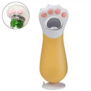 Portable Creative Cat Paw Shaped Bottle Opener