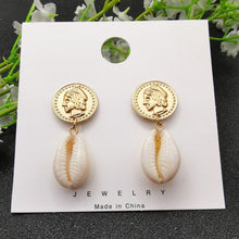 Load image into Gallery viewer, Sea Shell Earrings