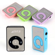 Load image into Gallery viewer, Mini Mirror Clip USB Digital Mp3