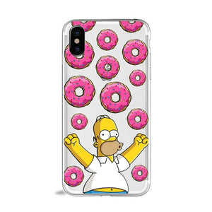 Funny Bart Simpson Cartoon Phone Case