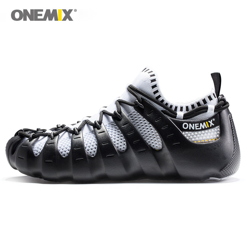 Onemix Rome shoes men & women running shoes light outdoor walking shoe sock-like sneakers environmentally friendly jogging shoes