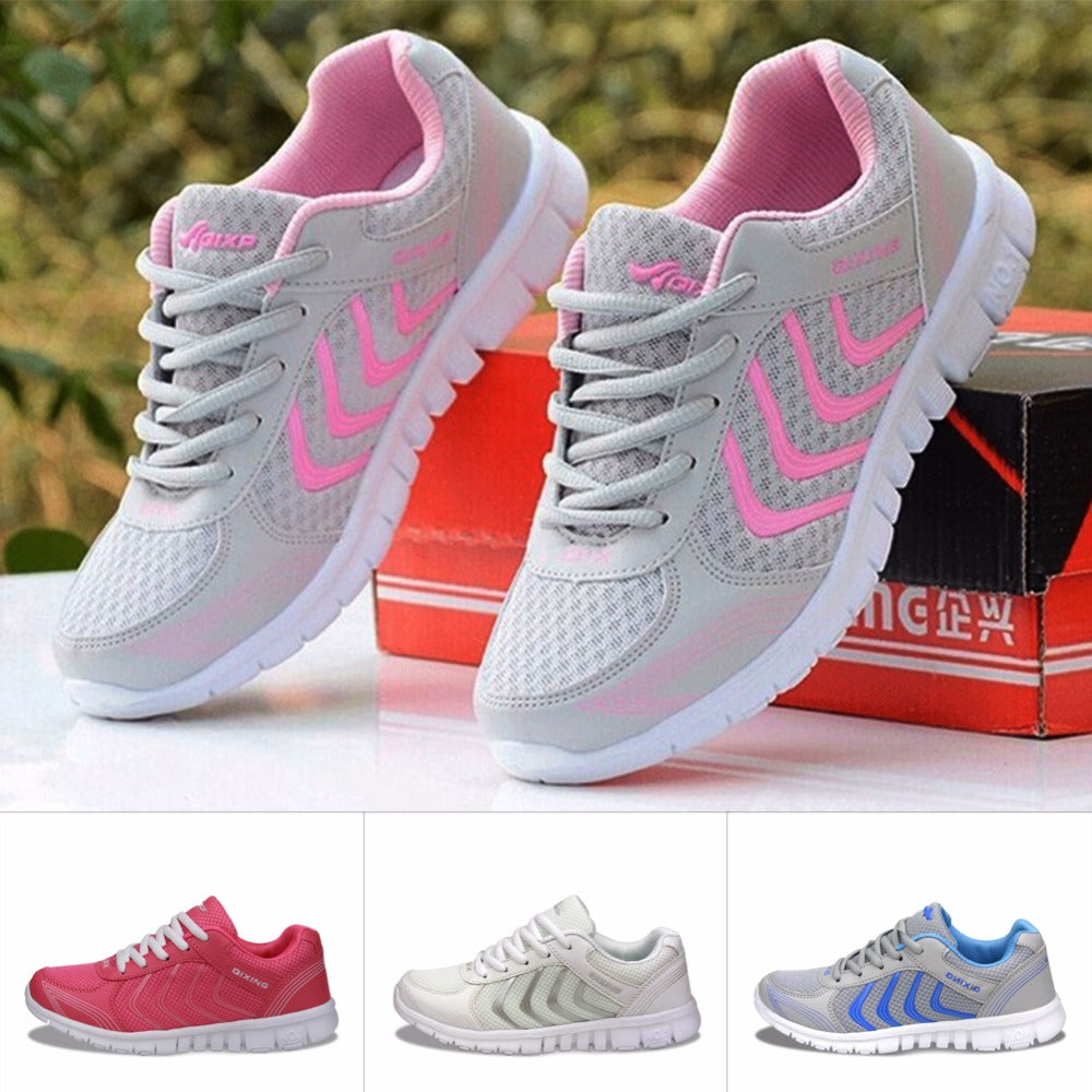 Breathable Sport Running Shoes Light Zapatos Mujer outdoor Sneakers 35-44 Shoes 2018 Jogging New Design Women shoes