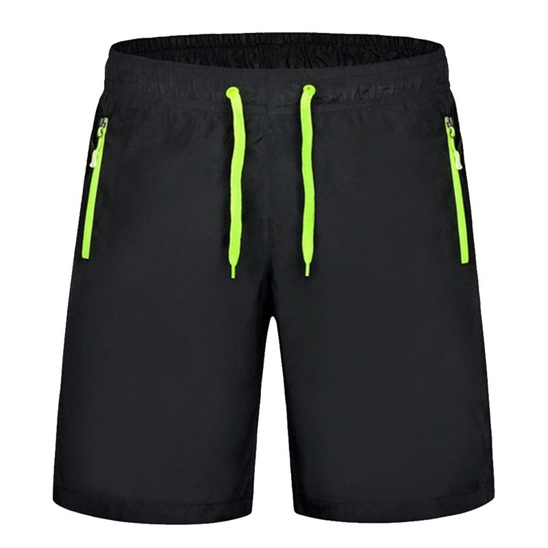 CALOFE Men Running Shorts Solid Summer Board Shorts For Fitness Running Gym Male Clothing Men's Beach Shorts Fitness Large Size