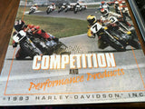 Six (6) Harley Davidson Motorcycles Catalog Many Models with Descriptions
