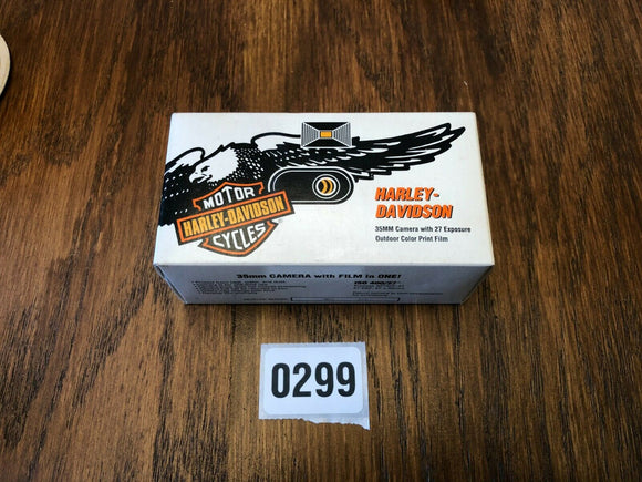 NOS HARLEY DAVIDSON 35mm One Time CAMERA 27 Exposures New 1996 Sealed
