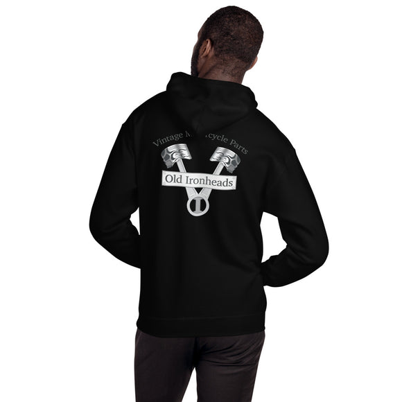 Unisex  Pull-over Hoodie Logo on Back