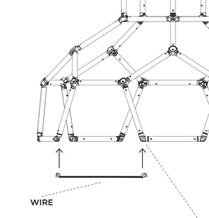 Dome Climber Replacement Wire