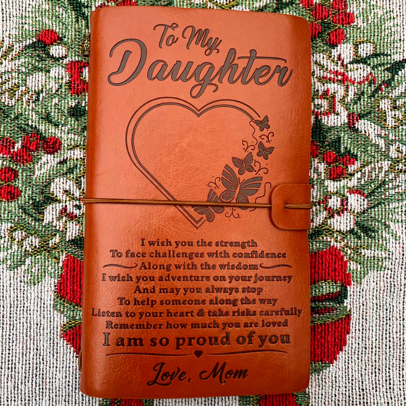"Vintage ""I Am So Proud Of You"" Daughter Journal"