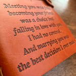 "The Vintage ""Meeting You Was Fate"" Wife Journal"
