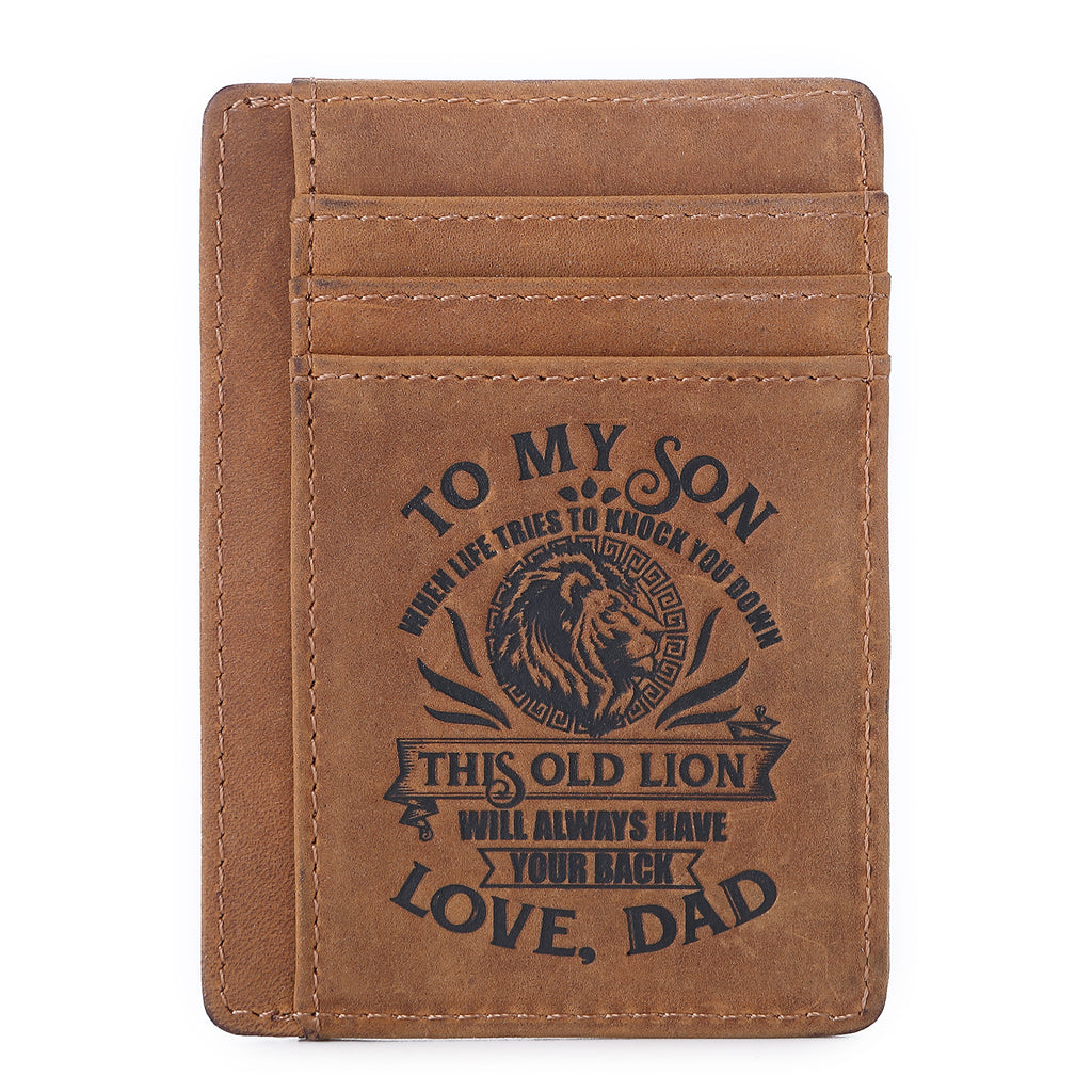 """Old Lion"" Son Wallet"