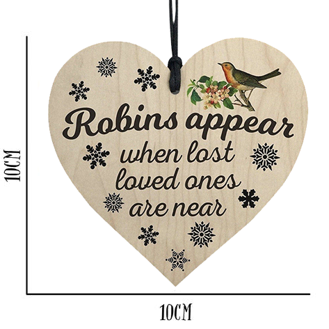 Robin Remembrance Decorations