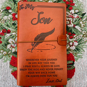 The Vintage Engraved Family Journal