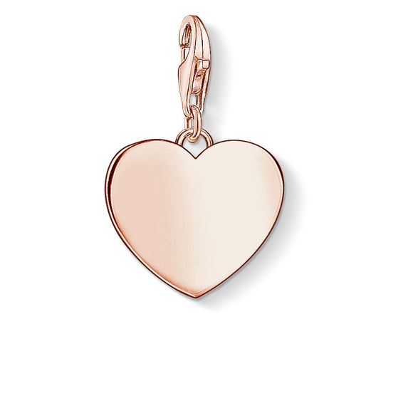 Thomas Sabo Rose Heart Charm 1633-415-40