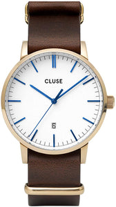 Cluse Aravis Brown Leather CW0101501007