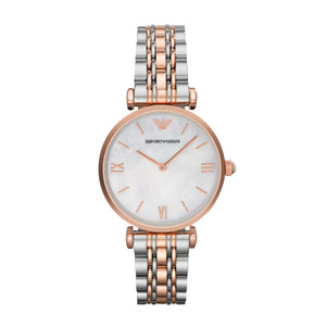 Emporio Armani Rose & Steel Ladies Watch AR1683