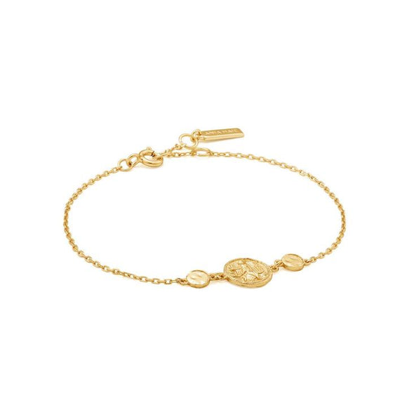 Ania Haie Gold Digger Bracelet Gold