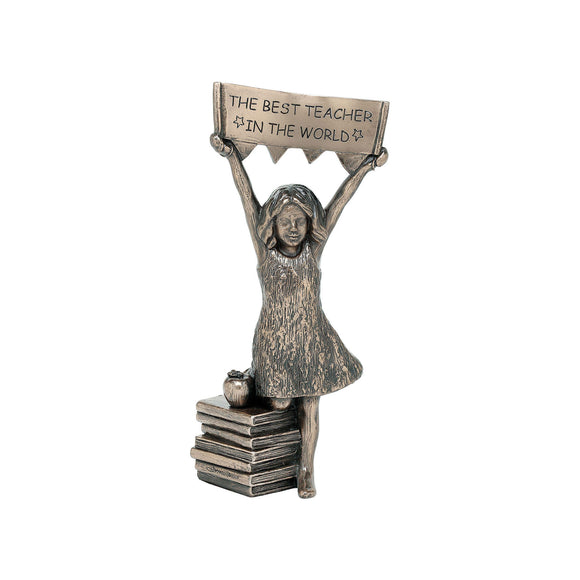 Genesis Best Teacher Girl Ornament