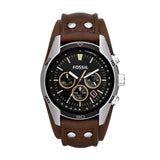 FOSSIL COACHMA BROWN LEATHER CH2891