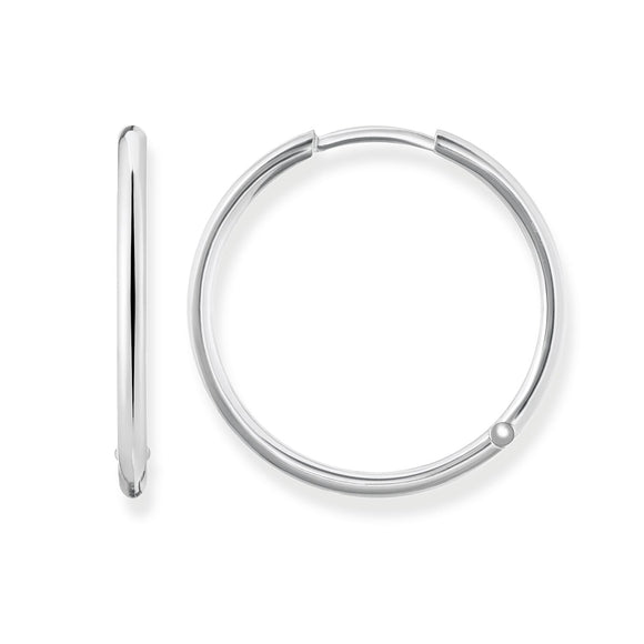 Thomas Sabo Silver Large Hoops