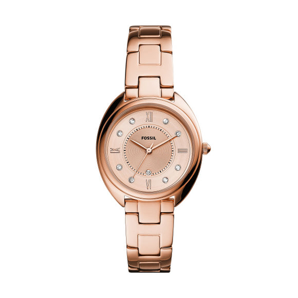Fossil Gabby Rose Gold Plated Ladies Watch