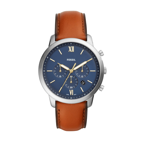 NEUTRA CHRONOGRAPH BROWN LEATHER WATCH FS5453
