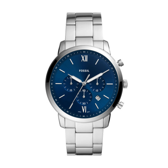 Fossil Neutro Chrono Stainless Steel Gents Watch