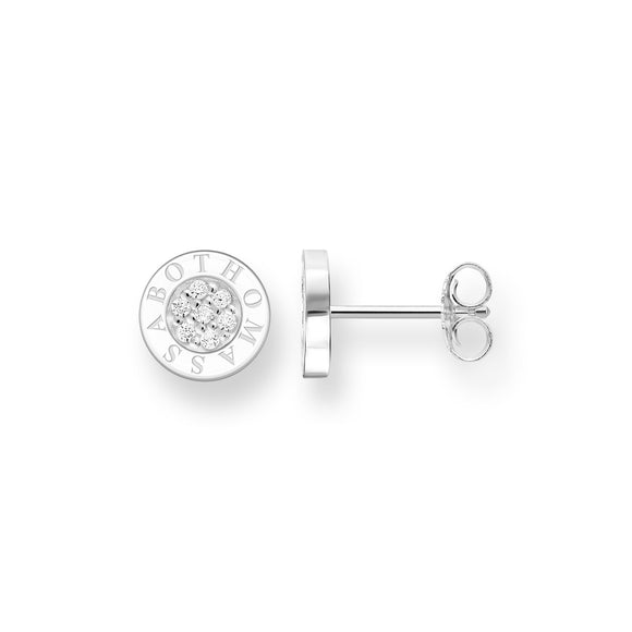 Thomas Sabo Classic Pavé Stud Earrings