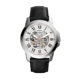 FOSSIL AUTOMATIC GRANT BLACK LEATHER ME3101
