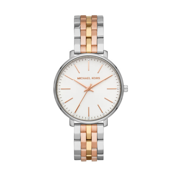 Michael Kors 3 Tone Pyper Ladies Watch MK3901