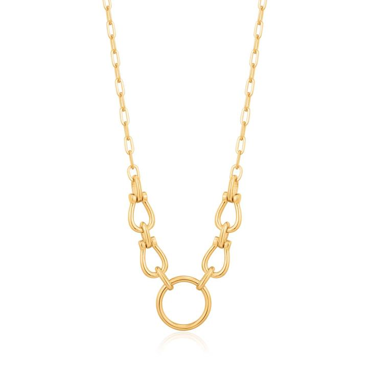 Ania Haie Horseshoe Link Necklace N021-04G